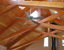 roofs timber scissor truss design